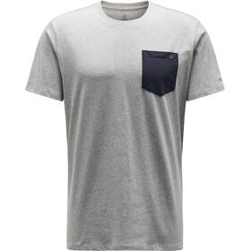 Haglöfs Mirth Camiseta Hombre, grey melange/slate